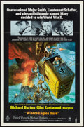 "Movie Posters:War, Where Eagles Dare Lot (MGM, 1968). One Sheets (2) (27"" X 41"").War.. ... (Total: 2 Items)"