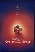 "Movie Posters:Animated, Beauty and the Beast (Buena Vista, 1991). One Sheet (27"" X 40"") DSAdvance. Animated.. ..."