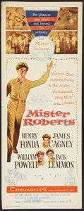 """Movie Posters:Comedy, Mister Roberts (Warner Brothers, 1955). Insert (14"""" X 36"""") and Lobby Cards (5) (11"""" X 14""""). Comedy.. ... (Total: 6 Items)"""