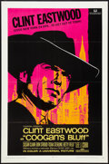 "Movie Posters:Crime, Coogan's Bluff (Universal, 1968). One Sheet (27"" X 41""). Crime....."
