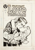 Original Comic Art:Covers, Love Problems and Advice Illustrated #34 Cover Original Art (Harvey, 1955)....