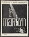 "Movie Posters:Documentary, Marilyn (20th Century Fox, 1963). Pressbook (Multiple Pages, 13"" X 16.5""). Documentary.. ..."