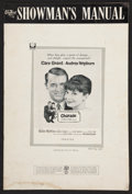 "Movie Posters:Mystery, Charade (Universal International, 1963). Pressbook (Multiple Pages,12"" X 18""). Mystery.. ..."