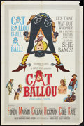 "Movie Posters:Comedy, Cat Ballou (Columbia, 1965). One Sheet (27"" X 41"") and Photos (2) (8"" X 10""). Comedy.. ... (Total: 3 Items)"