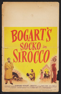 "Sirocco (Columbia, 1951). Window Card (14"" X 22""). Drama"