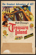 "Movie Posters:Adventure, Treasure Island (RKO, 1950). Window Card (14"" X 22""). Adventure....."