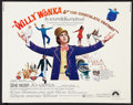 "Movie Posters:Fantasy, Willy Wonka & the Chocolate Factory (Paramount, 1971). HalfSheet (22"" X 28""). Fantasy.. ..."