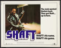 "Movie Posters:Blaxploitation, Shaft (MGM, 1971). Half Sheet (22"" X 28""). Blaxploitation.. ..."