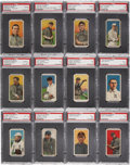 "Baseball Cards:Lots, 1909-11 T206 ""Polar Bear"" Collection (72) - With Cobb and O'Hara,St. Louis! ..."