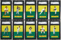 Baseball Cards:Sets, 1964 Topps Stand Ups High Grade Complete Set (77). ...