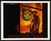 "High Plains Drifter (Universal, 1973). Half Sheet (22"" X 28""). Western"