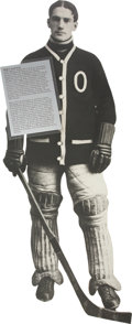 Hockey Collectibles:Others, Percy LeSueur Display from Hockey Hall of Fame....
