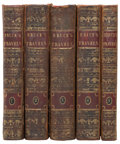 Books:Non-fiction, James Bruce. Travels to Discover the Source of the Nile,in the Years 1768, 1769, 1770, 1771, 1772, and 1773. Lo...(Total: 5 Items)