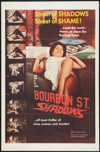 "Bourbon Street Shadows (Manson Distributing, 1962). One Sheet (27"" X 41""). Action"