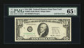 Error Notes:Foldovers, Fr. 2027-B $10 1985 Federal Reserve Note. PMG Gem Uncirculated 65EPQ.. ...