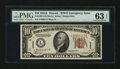 Small Size:World War II Emergency Notes, Fr. 2303 $10 1934A Hawaii Federal Reserve Note. PMG Choice Uncirculated 63 EPQ.. ...