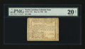 Colonial Notes:North Carolina, North Carolina May 10, 1780 $25 PMG Very Fine 20 Net....