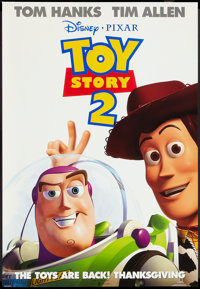 """Toy Story 2 (Buena Vista, 1999). One Sheet (27"""" X 40"""") DS Advance, Mini Poster (18.5"""" X 27""""), and De..."""