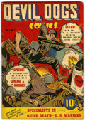Golden Age (1938-1955):War, Devil Dogs #1 (Street & Smith, 1942) Condition: VG....