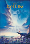 "Movie Posters:Animated, The Lion King (Buena Vista, 1994). One Sheet (27"" X 40"") DS. Animated.. ..."
