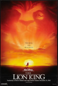"Movie Posters:Animated, The Lion King (Buena Vista, R-2002). Imax One Sheet (27"" X 40"") DSAdvance. Animated.. ..."
