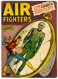 Golden Age (1938-1955):War, Air Fighters Comics V2#6 (Hillman Fall, 1944) Condition: VG/FN....
