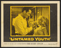 "Movie Posters:Cult Classic, Untamed Youth (Warner Brothers, 1957). Lobby Cards (5) (11"" X 14"").Cult Classic.. ... (Total: 5 Items)"