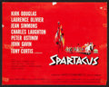 "Movie Posters:Adventure, Spartacus (Universal International, 1960). Roadshow Lobby Card Setof 9 (11"" X 14""). Adventure.. ... (Total: 9 Items)"