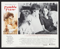 "Rumble Fish Lot (Universal, 1983). Lobby Card Set of 8 (11"" X 14"") and additional set of lobbies. Drama. ... (..."