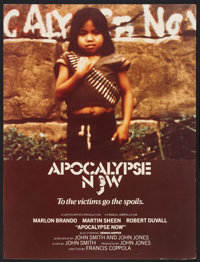 """Apocalypse Now (United Artists, 1979). Concept Poster (22.25"""" X 30""""). War"""