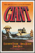 "Movie Posters:Drama, Giant (Kino, R-1982). One Sheet (27"" X 41""). Drama.. ..."
