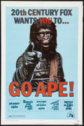 """Movie Posters:Science Fiction, Go Ape! (20th Century Fox, 1974). Planet of the Apes Film Festival One Sheet (27"""" X 41""""). Science Fiction.. ..."""