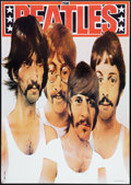 "Movie Posters:Rock and Roll, Beatles Promotional Poster (Plakat Polski Warzawa, R-1985). PolishB1 (26.5"" X 37.5""). Rock and Roll.. ..."