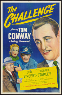 """The Challenge Lot (20th Century Fox, 1948). One Sheets (2) (27"""" X 41""""). Mystery. ... (Total: 2 Items)"""