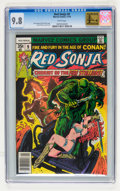 Bronze Age (1970-1979):Adventure, Red Sonja #9 (Marvel, 1978) CGC NM/MT 9.8 White pages....
