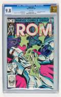 Modern Age (1980-Present):Science Fiction, Rom #42 (Marvel, 1983) CGC NM/MT 9.8 White pages....