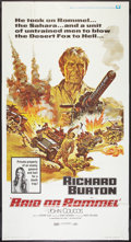 "Movie Posters:War, Raid on Rommel (Universal, 1971). Three Sheet (41"" X 81""). War....."