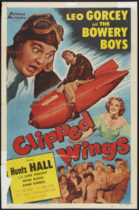 """Clipped Wings (Allied Artists, 1953). One Sheet (27"""" X 41""""). Comedy"""