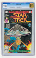 Modern Age (1980-Present):Science Fiction, Star Trek #3 (Marvel, 1980) CGC NM/MT 9.8 White pages....