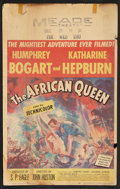 "Movie Posters:Adventure, The African Queen (United Artists, 1952). Window Card (14"" X 22"").Adventure.. ..."