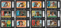 Baseball Cards:Sets, 1960 Topps Baseball High End Complete Set (572). ...