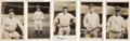 Baseball Collectibles:Photos, 1929 New York Yankees Photographic Snapshots Lot of 23 from BillDickey Estate....