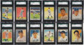 Baseball Cards:Sets, 1941 Play Ball Baseball High End Partial Set (28) - #6 on the SGCRegistry. ...