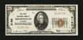 National Bank Notes:Alabama, Birmingham, AL - $20 1929 Ty. 1 The First NB Ch. # 3185. ...