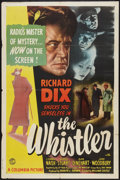 "Movie Posters:Mystery, The Whistler (Columbia, 1944). One Sheet (27"" X 41""). Mystery.. ..."