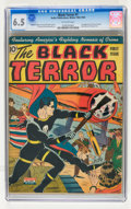 Golden Age (1938-1955):Superhero, The Black Terror #1 (Nedor Publications, 1942) CGC FN+ 6.5 Off-white pages....