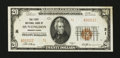 National Bank Notes:Pennsylvania, Huntingdon, PA - $20 1929 Ty. 2 The First NB Ch. # 31. ...