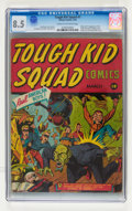 Golden Age (1938-1955):Superhero, Tough Kid Squad Comics #1 (Timely, 1942) CGC VF+ 8.5 Cream to off-white pages....