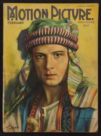 """Motion Picture Magazine (Brewster, 1922). Magazine (Multiple Pages, 8.5"""" X 11.5""""). Miscellaneous"""