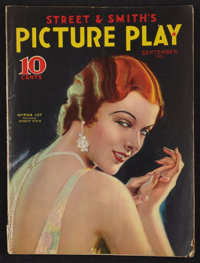 """Picture Play (Street & Smith, 1931). Magazine (Multiple Pages, 8.5"""" X 11.5""""). Miscellaneous"""